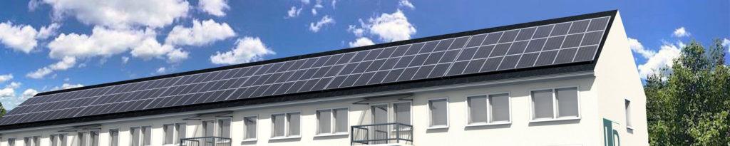 energetische Sanierung Solarstrom